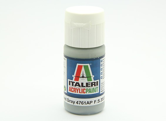 Italeri Acrylic Paint - Flat Dark Ghost Gray (4761AP)