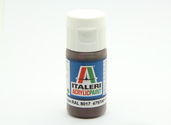 Italeri Acrylic Paint - Flat Pz Schokobraun RAL 8017 (4797AP)