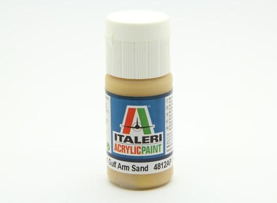 Italeri Acrylic Paint - Flat Gulf Arm Sand (4812AP)