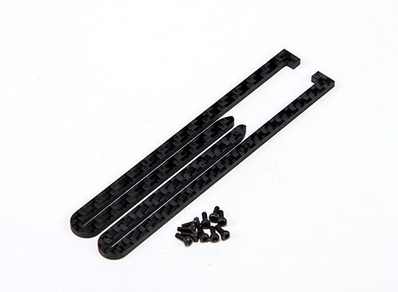RJX X-TRON 500 Battery Tray Guide 2.5mm # X500-61084A (2pcs)