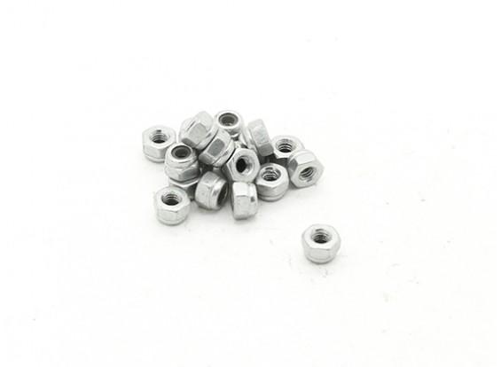RJX X-TRON 500 M2.5 Lock Nuts # X500-8009 (20pcs)