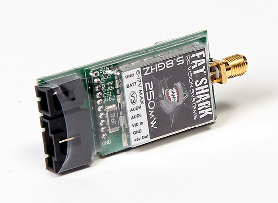 FatShark 250mW V3 5.8GHz Video Transmitter With NexwaveRF