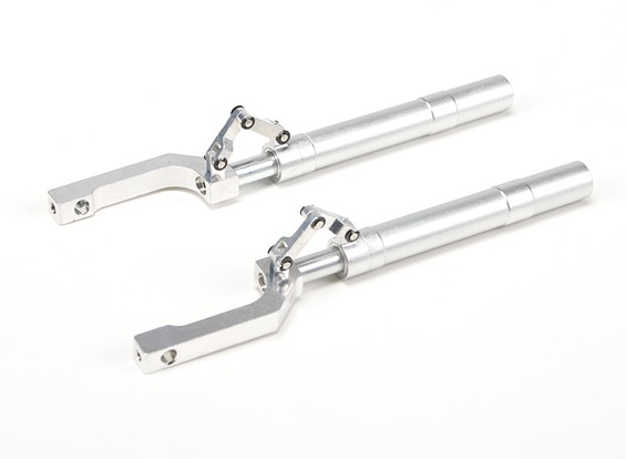 Alloy Oleo Struts Offset with Trailing Link 155mm~ 12.7mm Pin  (2pcs)