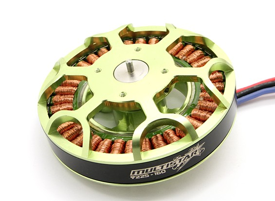 9225-160KV Turnigy Multistar Brushless Multi-Rotor Motor
