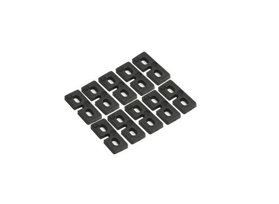 KDS Innova 550, 600,700 Servo Mounting Plate (10pcs/bag) 550-64TTS