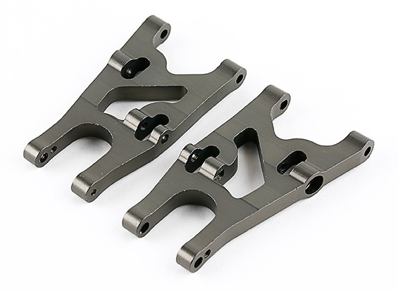 Titanium Front Lower Susp. Arms (L&R) - Basher 1/16 Mini Nitro Circus MT