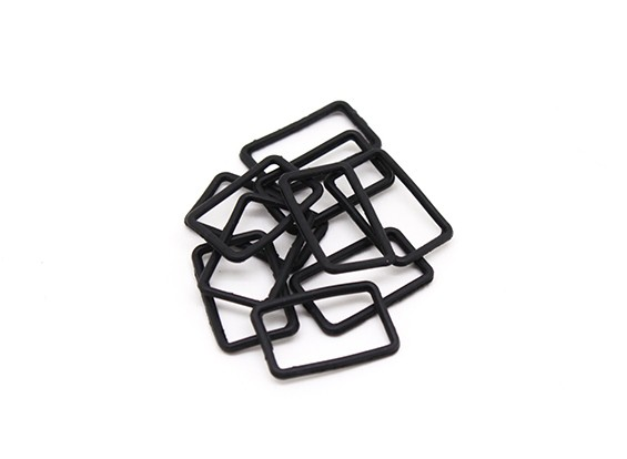 Square Seal Sheet (10pcs) - BSR Racing BZ-222 1/10 2WD Racing Buggy