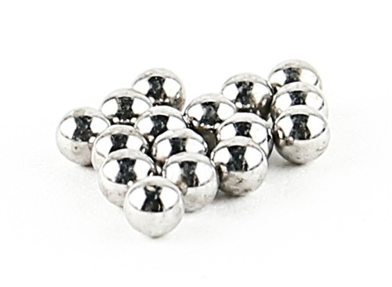 Steel Ball (16pcs) - BSR Racing BZ-222 1/10 2WD Racing Buggy