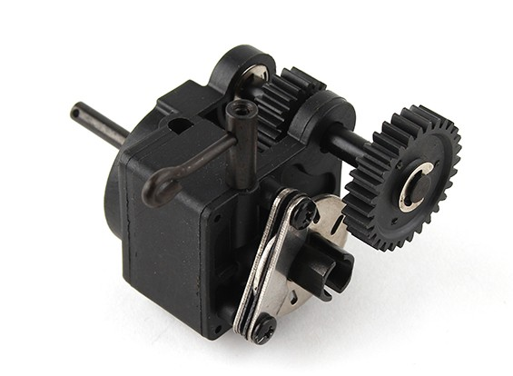 Completed Single Speed Gearbox w/Dust Cover - A3011
