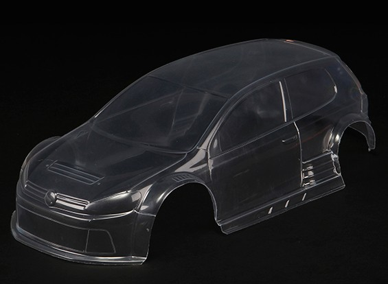 Basher RZ-4 1/10 Rally Racer - Clear Body Shell