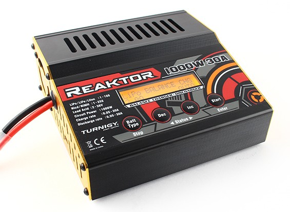 Turnigy Reaktor 30A 1000W Balance Charger