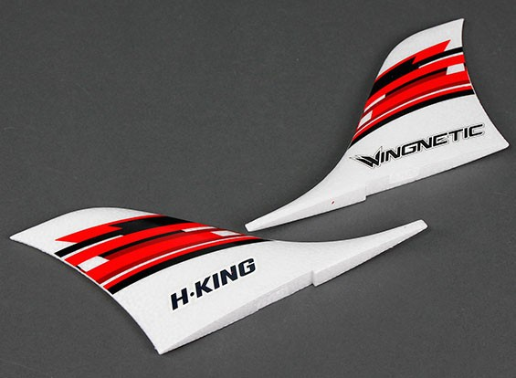 HobbyKing™ Wingnetic 805mm - Replacement Vertical Fins