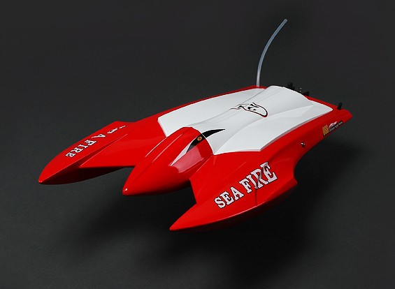 Sea Fire Brushless Twin-Hull R/C Boat (662mm) (P&P)