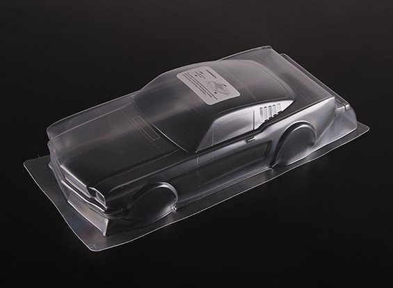 1:10 FORD MUSTANG Clear Body Shell