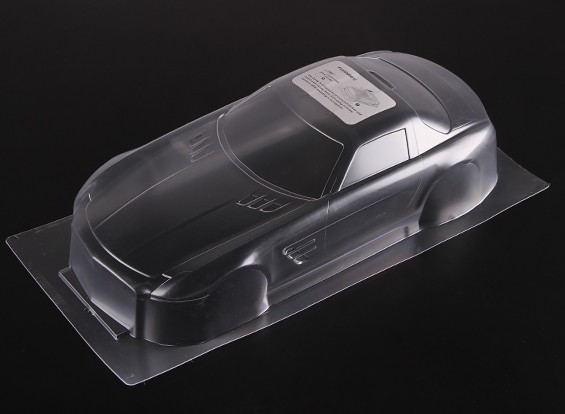 1:10 BENZ SLS AMG Clear Body Shell