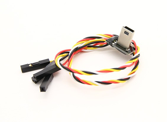 Mobius USB to AV Out FPV cable with Charging