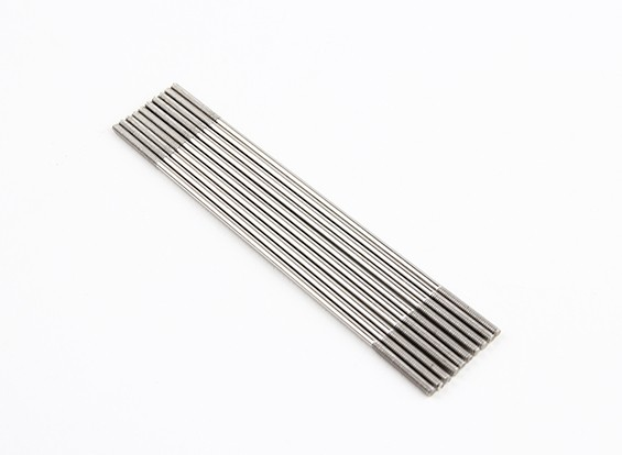 M2x90mm Stainless Steel Push Rods (LH & RH Threaded) (10pcs)