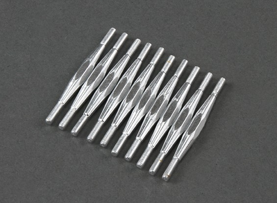 M3x70mm Alloy Turnbuckle (10pcs)