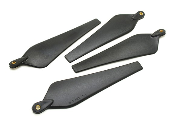 Multirotor Folding Propeller 8x4.5 Black (CW/CCW) (2pcs)