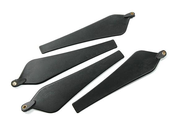 Folding Carbon/Nylon Propeller 1045 (CW&CCW) (4pcs, 2blades)