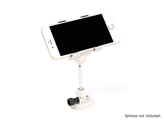 Smartphone Transmitter Mounting Bracket (White)