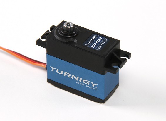 Turnigy™ TGY-615C High Torque DS/MG Servo 25T 14kg / 0.08sec / 56g
