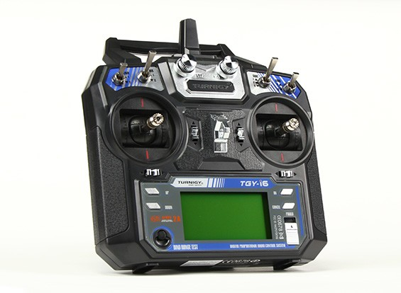 Turnigy TGY-i6 AFHDS Transmitter and 6CH Receiver (Mode 1)