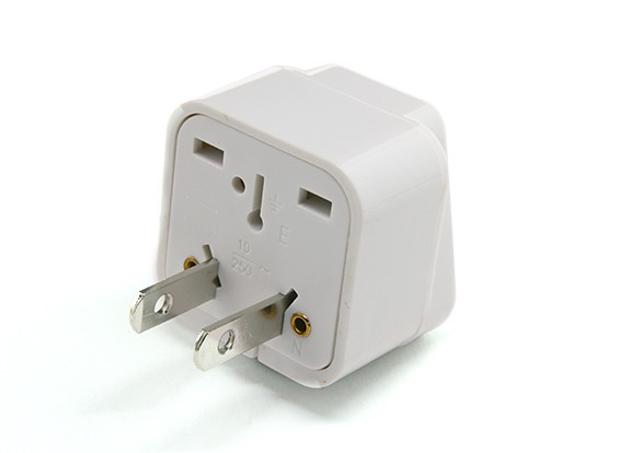 Japanese Standards JIS C 8303 Multi-Standard Sockets Adaptor