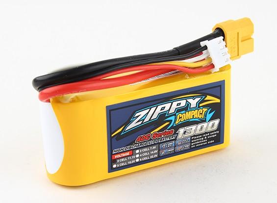 ZIPPY Compact 1300mAh 3s 40c Lipo Pack