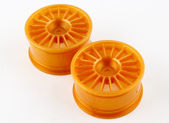 Basher RZ-4 1/10 Rally Racer - 30mm Rear Wheel - Gold (2pcs)