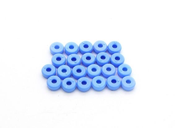 Tarot 450 Pro/Pro V2 DFC M2 Canopy Washers - Blue (TL2818-01)