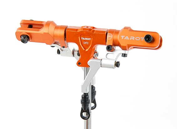 Tarot 450 PRO/PRO V2 DFC Split Locking Rotor Head Assembly - Orange (TL48025-03)