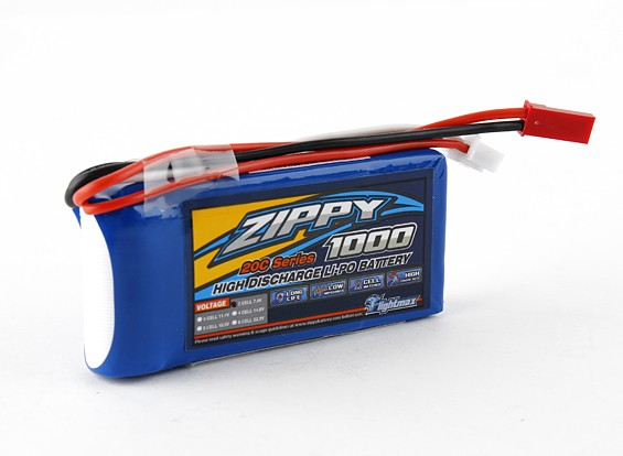 ZIPPY Flightmax 1000mAh 2S1P 20C
