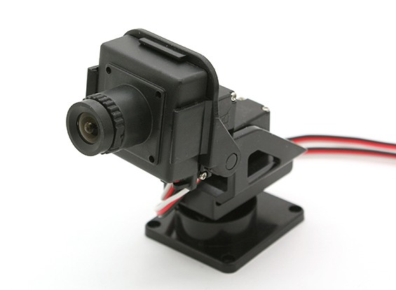 Boscam CM210 HD Camera with Pan & Tilt Gimbal for FPV