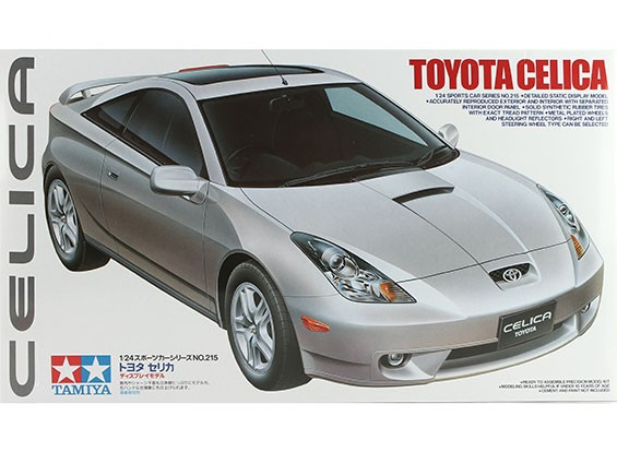 Tamiya 1/24 Scale Toyota Celica Plastic Model Kit
