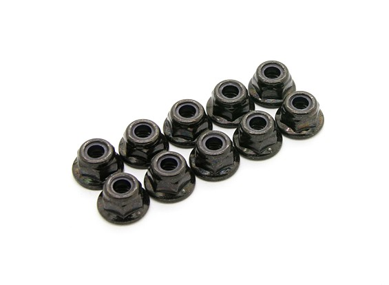 BSR Racing M.RAGE 4WD M-Chassis - M4 Nuts (10pcs)