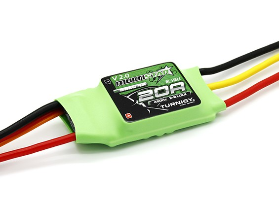 Turnigy Multistar 20A V2 ESC With BLHeli and 4A LBEC 2-6S