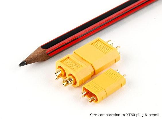 XT30 Power Connectors for 30A Continuous Applications  (ESC Side) (5pcs)