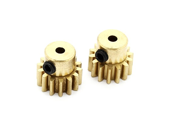 Option Metal Pinion Gear 14T - Basher PitBull 1/18 4WD Desert Buggy (2pcs)