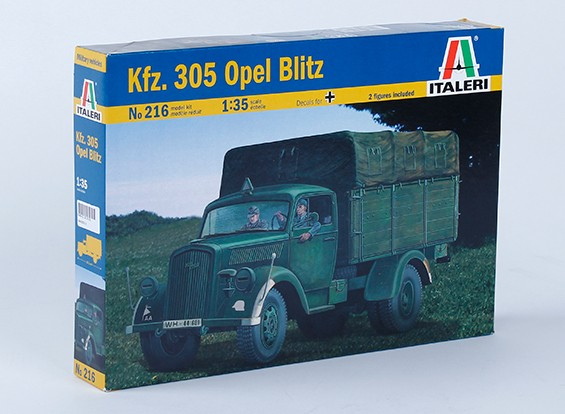 Italeri 1/35 Kfz. 305 Opel Blitz Scale Pastic Model Kit