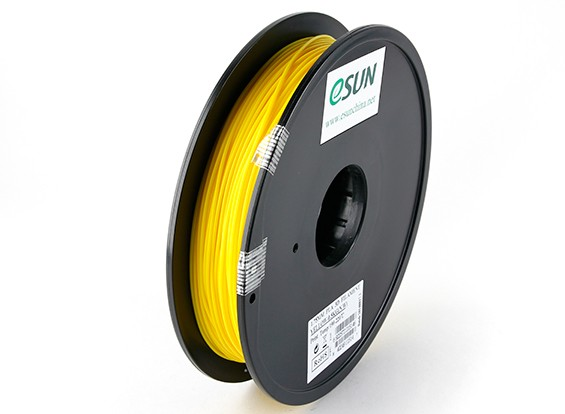 ESUN 3D Printer Filament Yellow 1.75mm PLA 0.5KG Spool