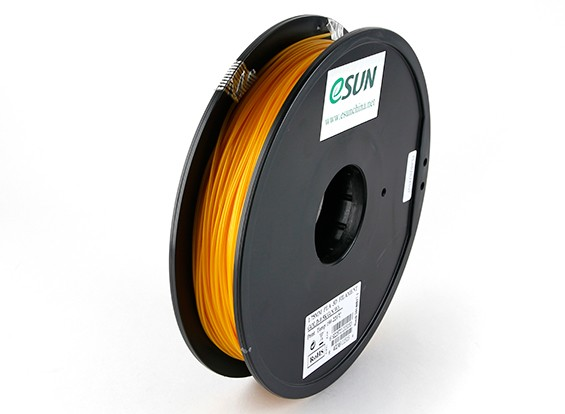 ESUN 3D Printer Filament Gold 1.75mm PLA 0.5KG Spool