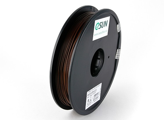 ESUN 3D Printer Filament Brown 1.75mm PLA 0.5KG Spool