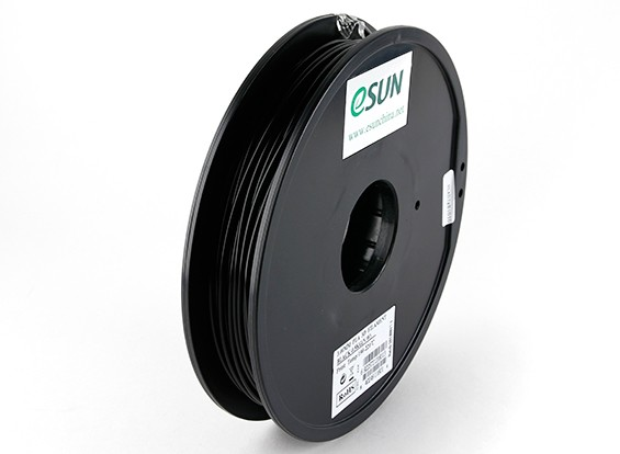 ESUN 3D Printer Filament Black 3mm PLA 0.5KG Spool