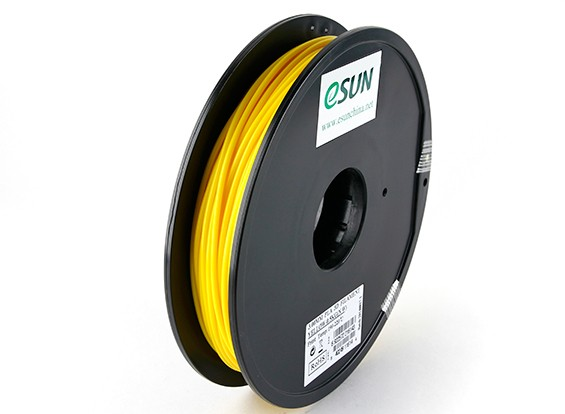 ESUN 3D Printer Filament Yellow 3mm PLA 0.5KG Spool