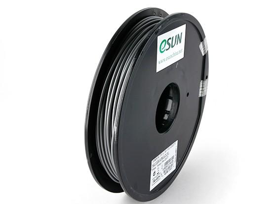 ESUN 3D Printer Filament Silver 3mm PLA 0.5KG Spool
