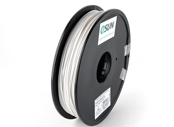 ESUN 3D Printer Filament White 1.75mm ABS 0.5KG Spool