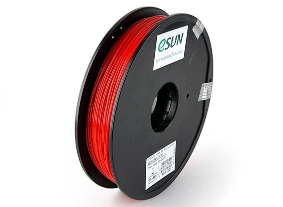 ESUN 3D Printer Filament Red 1.75mm ABS 0.5KG Spool