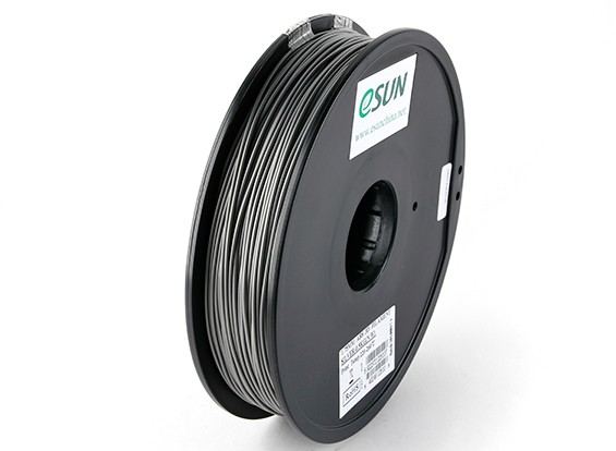 ESUN 3D Printer Filament Silver 1.75mm ABS 0.5KG Spool