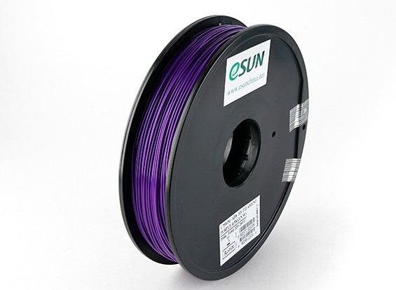 ESUN 3D Printer Filament Purple 1.75mm ABS 0.5KG Spool
